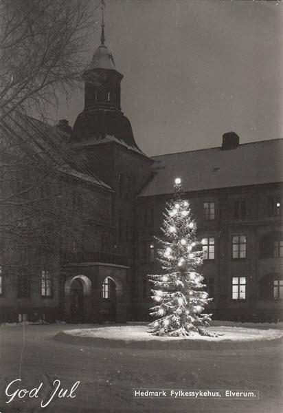 Hedmark Fylkessykehus, Elverum. God Jul