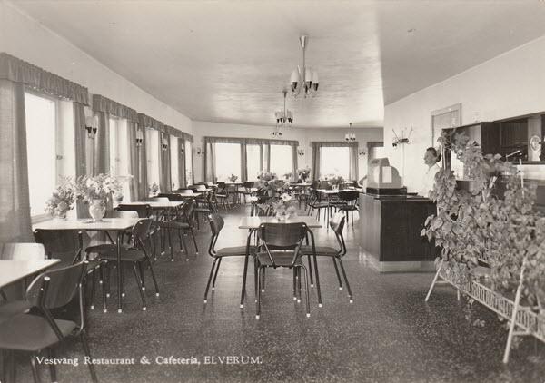 Vestvang Restaurant & Cafeteria, Elverum.