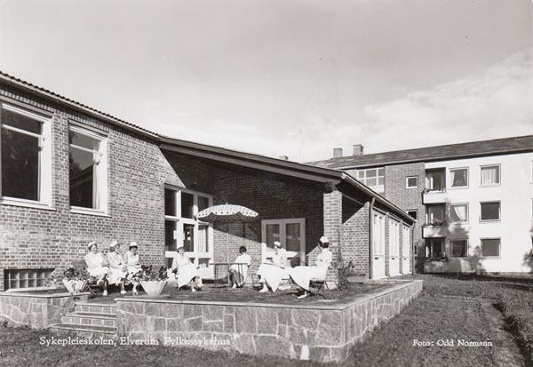 Sykepleieskolen, Elverum Fylkessykehus