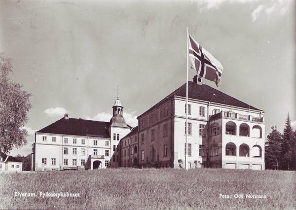 Elverum. Fylkessykehuset