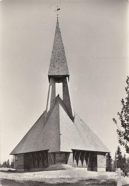 Gravberget Kirke - Våler.