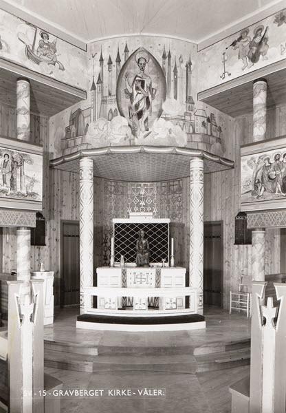 Gravberget Kirke - Våler. [uten O.W.N.]