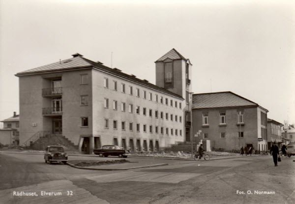 Rådhuset, Elverum