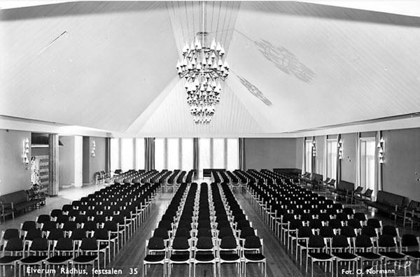 Elverum Rådhuset, festsalen