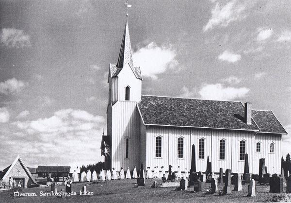 Elverum. Sørskogbygda kirke