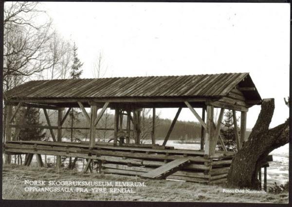 Norsk Skogbruksmuseum, Elverum.<br/> Oppgangssaga Ytre Rendalen.